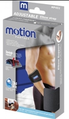 motion elbow support strap